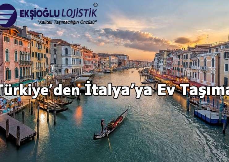 Türkiye'den İtalya'ya Ev Taşıma