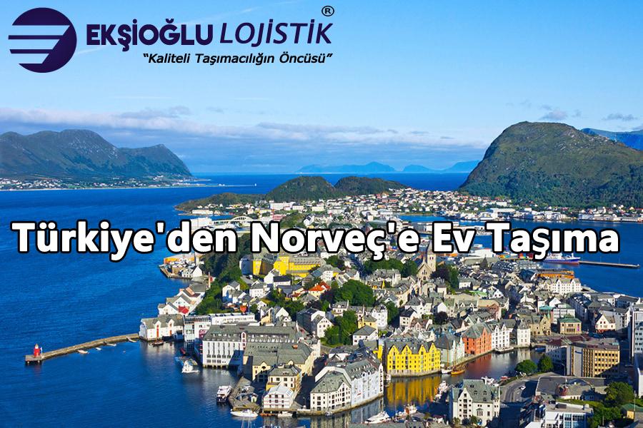Türkiye'den Norveç'e Ev Taşıma