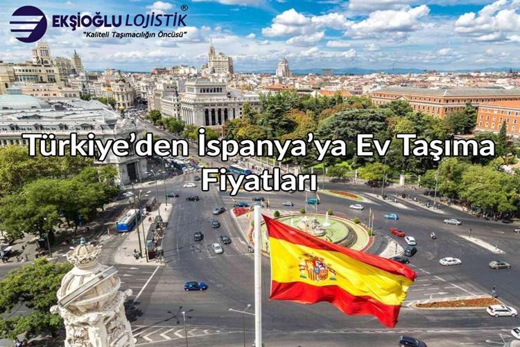 Türkiye'den İspanya'ya Ev Taşıma Fiyatları