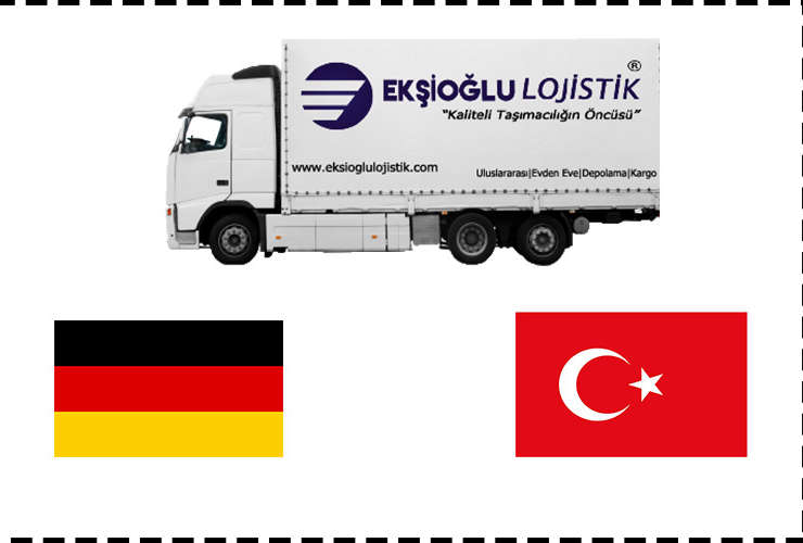 Almanya'dan Türkiye'ye Evden Eve Nakliyat